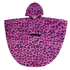 Ashley Leopard Poncho