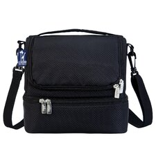 Solids Rip-Stop Double Decker Lunch Bag