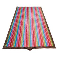 Ashley Bright Stripes Picnic Blanket