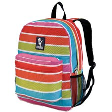 <strong>Wildkin</strong> Ashley Bright Stripes Crackerjack Backpack