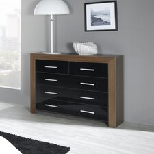 Siracusa 2 Over 3 Drawer Chest