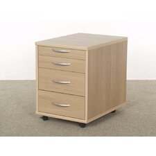 Alpha 4 Drawer Filing Cabinet