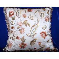 45cm Embroidered Cushion Cover