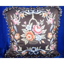 45cm Cushion Cover with Embroidery