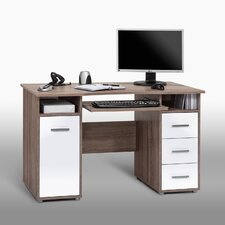 <strong>Maja</strong> 3 Drawer Computer Desk with 1 Door