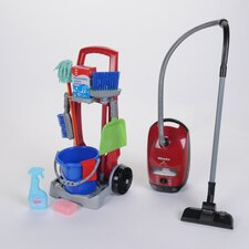 Cleaning Trolley/Miele Vacuum Combo