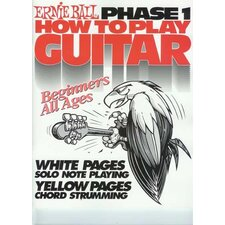Ernie Ball How to Play Guitar Phase 1 Book