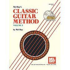 Classic Guitar Method Book - Volume 2
