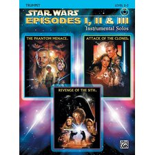 Star Wars®: Episodes I, II and III Instrumental Solos (Trumpet Edition)