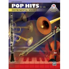 Pop Hits for The Instrumental Soloist: Alto Sax (Book and CD)