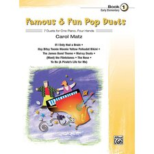 Famous and Fun Pop Duets, Book 1
