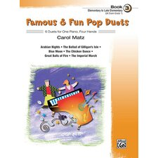 Famous and Fun Pop Duets, Book 3