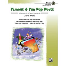 Famous and Fun Pop Duets, Book 5