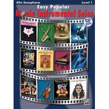 Easy Popular Movie Instrumental Solos, Alto Sax