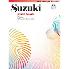 <strong>Alfred Publishing Company</strong> Suzuki Piano School New International Edition Piano Book and CD, Volume 1