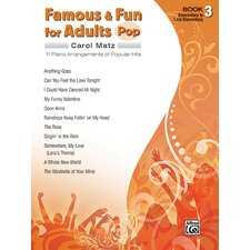 Famous and Fun for Adults: Pop, Book 3