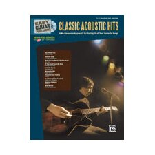 <strong>Alfred Publishing Company</strong> Easy Guitar Play-Along: Classic Acoustic Hits