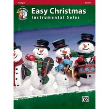 <strong>Alfred Publishing Company</strong> Easy Christmas Instrumental Solos, Level 1: Trumpet (Book and CD)