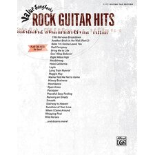 <strong>Alfred Publishing Company</strong> Value Song Books: Rock Guitar Hits Play the Hits for Less!