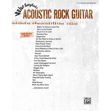 Value Song Books: Acoustic Rock Guitar