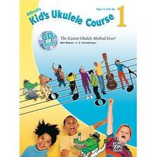 <strong>Alfred Publishing Company</strong> Kid's Ukulele Course 1 The Easiest Ukulele Method Ever!