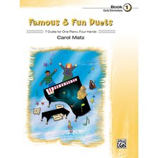 Famous and Fun Duets, Book 1