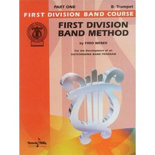 First Division Band Method, Part 1 B-Flat Cornet (Trumpet)