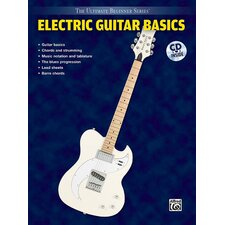 Ultimate Beginner Series: Electric Guitar Basics (Book and CD)