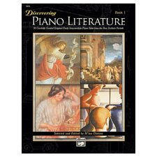 <strong>Alfred Publishing Company</strong> Discovering Piano Literature, Book 1