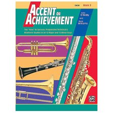 Accent on Achievement, Book 3 Oboe