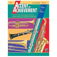Accent on Achievement, Book 3 B-Flat Bass Clarinet