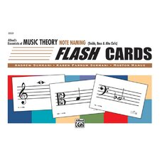 Essentials of Music Theory: Flash Cards - Note Naming