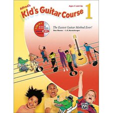 <strong>Alfred Publishing Company</strong> Kid's Guitar Course 1 The Easiest Guitar Method Ever!