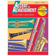 Accent on Achievement, Book 2 Horn in F Book and CD
