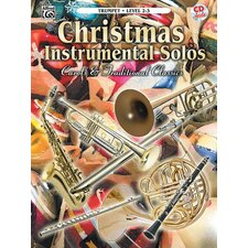 Christmas Instrumental Solos Level 2-3 Book and CD (Trumpet)