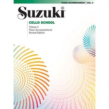 Suzuki Cello School Piano Acc., Volume 6