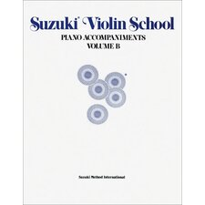 Suzuki Violin School Piano Acc., Volume B (contains Volumes 6-10)
