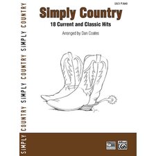 <strong>Alfred Publishing Company</strong> Simply Series Simply Country 18 Current and Classic Hits