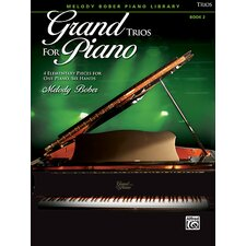 Grand Trios for Piano, Book 24 Elementary Pieces for One Piano, Six Hands