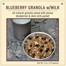 Blueberry Granola with Milk