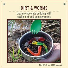 Dirt and Worms Dessert