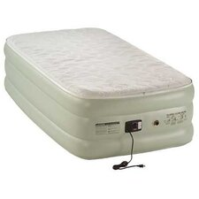 Quickbed Double High Queen Pillowtop Airbed with Built-In Pump