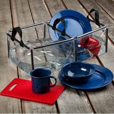 Folding Double Kitchen Sink