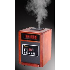 <strong>Dr. Infrared Heater</strong> Elite Series 1,500 Watt Infrared Cabinet Space Heater with Humidifier