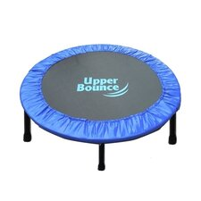 "Two-Way Foldable Rebounder 40"" Trampoline with Carry-on Bag"