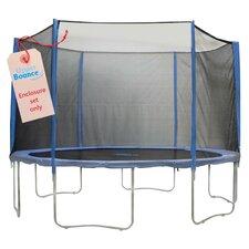 14' 31 Piece Round Trampoline Enclosure Set for 3/6 W Legs