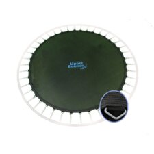 "Round Jumping Surface for 14' Trampoline with 72 V-Rings for 7"" Springs"