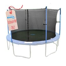 10'  Round Trampoline Net Using 6 Poles or 3 Arches