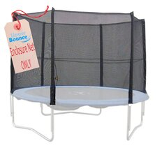 14' Round Trampoline Net using 8 Straight Poles
