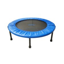 "Two-Way Foldable Rebounder 36"" Trampoline with Carry-on Bag"